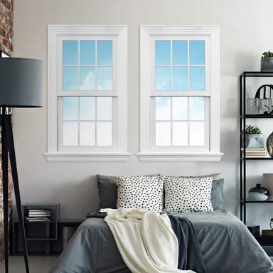 3D Wandtattoo Doppelfenster - Sunny Day