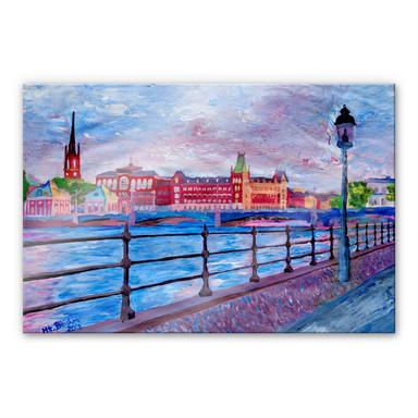 Acrylglasbild Bleichner - Stockholm