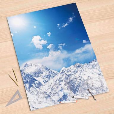 Folienbogen (80x120cm) - Everest