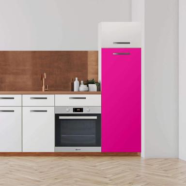 Klebefolie - Hochschrank (60x160cm) - Pink Dark- Bild 1