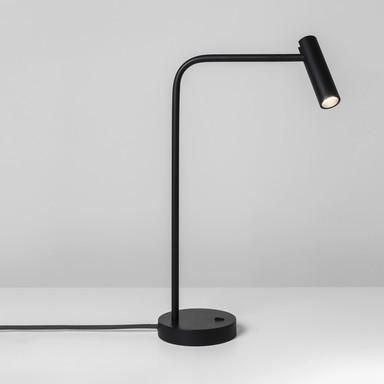 LED Tischleuchte Enna in Schwarz-Matt 4.5W 124lm