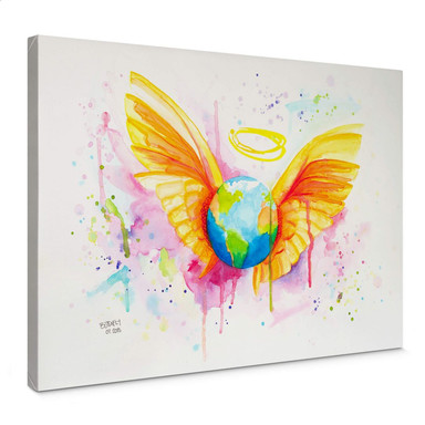 Leinwandbild Buttafly - Angel