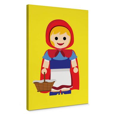 Leinwandbild Gomes - Rotkäppchen Spielzeug