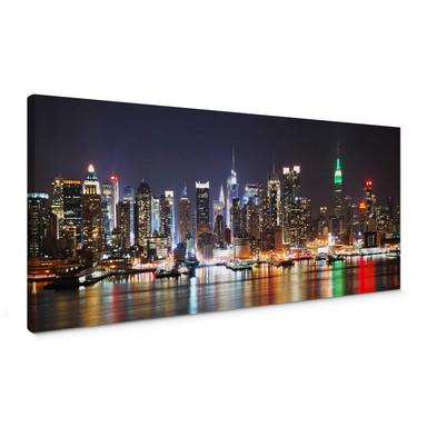 Leinwandbild New York Skyline - Panorama