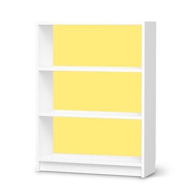Möbelfolie IKEA Billy Regal 3 Fächer - Gelb Light