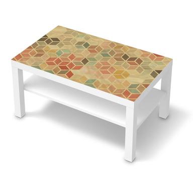 Möbelfolie IKEA Lack Tisch 90x55cm - 3D Retro