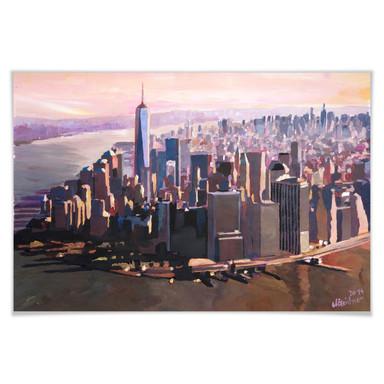 Poster Bleichner - Manhattan Freedom