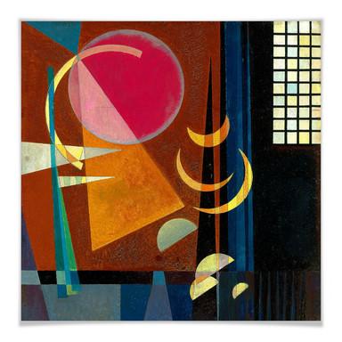 Poster Kandinsky - Scharf und ruhig