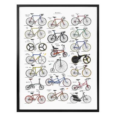 Poster Sparshott - Fahrräder