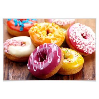 Poster Zuckersüsse Donuts