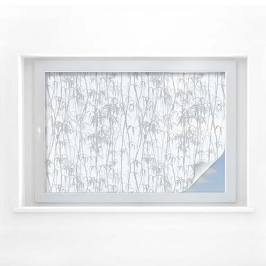 Sichtschutzfolie Bambus Grunge