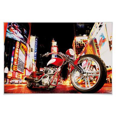 Giant Art® XXL-Poster Midnight Rider - 175x115cm - Bild 1