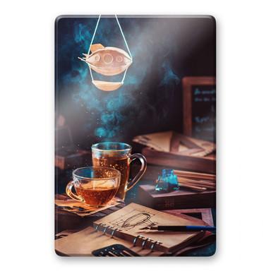 Glasbild Belenko - Steampunk Tea 01