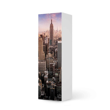 Klebefolie IKEA Stuva / Malad - 3 Schubladen und 2 grosse Türen - Big Apple- Bild 1