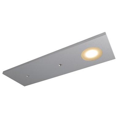LED Möbelaufbauleuchte Fine Long in Silber-Matt 12V 3W