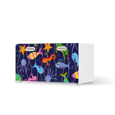 Möbelfolie IKEA Stuva / Fritids Bank mit Kasten - Underwater Life
