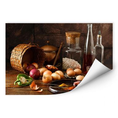 Wallprint Laercio - Ungarische Küche