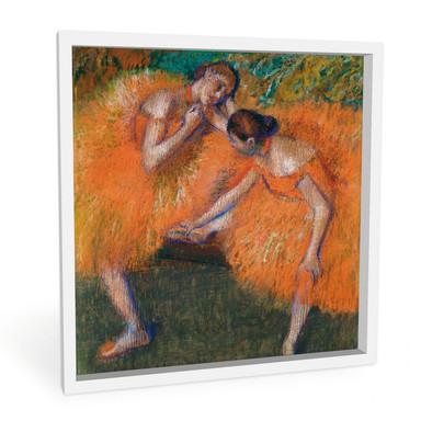 Wandbild Degas - Zwei Tänzerinnen