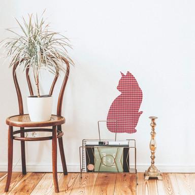 Wandsticker Katze (Muster)