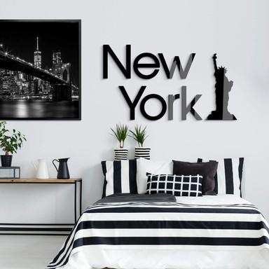 Acrylglas Buchstaben New York - Freiheitsstatue