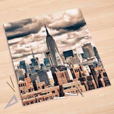 Folienbogen (90x90cm) - Skyline NYC