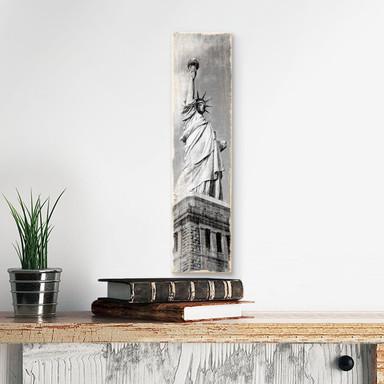 Holzschild Lady Liberty - Bild 1