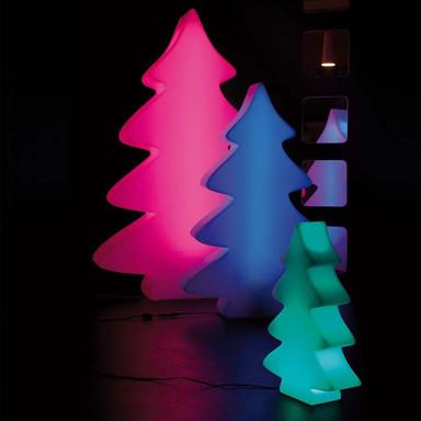 LED Baum Lumenio in Weiss RGB 1150x750x200mm
