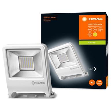 LED Flutlicht Endura in Weiss 50W 4500lm IP65 3000K
