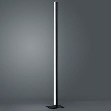 LED Stehleuchte Venta in Schwarz-matt und Chrom 31W 2690lm
