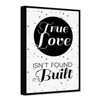 Leinwandbild True Love
