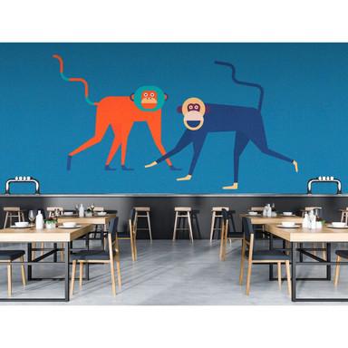Livingwalls Fototapete Walls by Patel 2 monkey business 2 - Bild 1