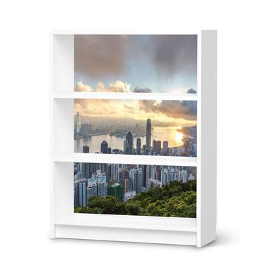 Möbelfolie IKEA Billy Regal 3 Fächer - Hong Kong