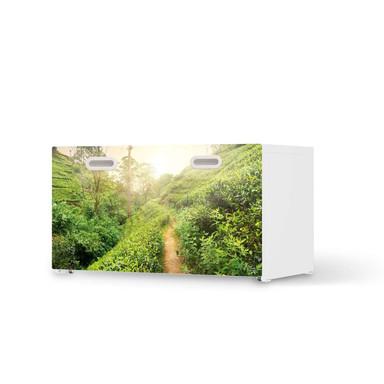 Möbelfolie IKEA Stuva / Fritids Bank mit Kasten - Green Tea Fields