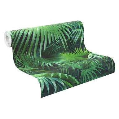 Rasch Vliestapete Crispy Paper grün