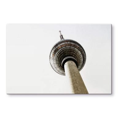 Glasbild Der Fernsehturm