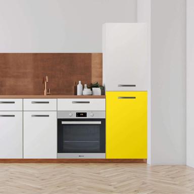 Klebefolie - Hochschrank (60x100cm) - Gelb Dark- Bild 1