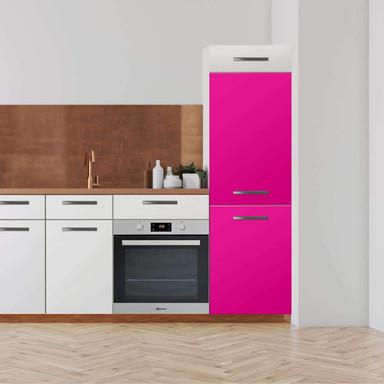 Klebefolie - Hochschrank (60x180cm) - Pink Dark- Bild 1