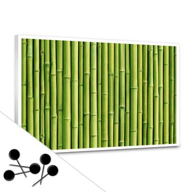 Pinnwand Bambus inkl. 5 Pinnadeln