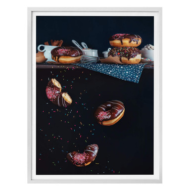 Poster Belenko - Donuts from the top