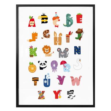 Poster Kinder Alphabet