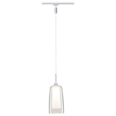 URail LED Pendulum Arido 3W Chrom matt mit klarem und satiniertem Glas