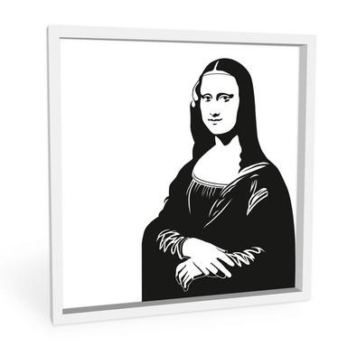 Wandbild Mona Lisa