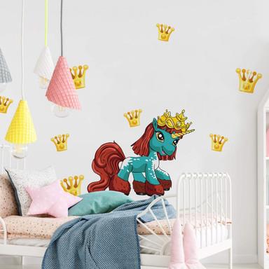 Wandsticker Filly Unicorn Party Agnix