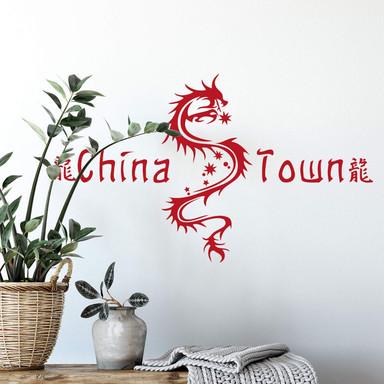 Wandtattoo China Town