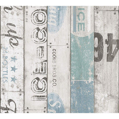 A.S. Création Holzoptik Papiertapete Boys & Girls 5 beige