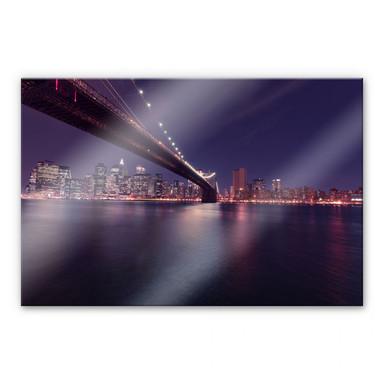 Acrylglasbild Lights in New York City