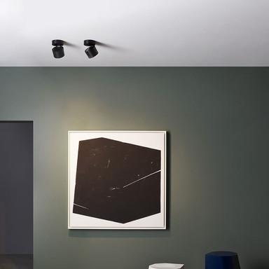 LED Deckenleuchte Lynx 12.5W 1000lm Warmweiss in Schwarz