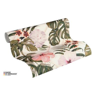 Michalsky Living Vliestapete Dream Again Tapete floral grün, rosa, weiss