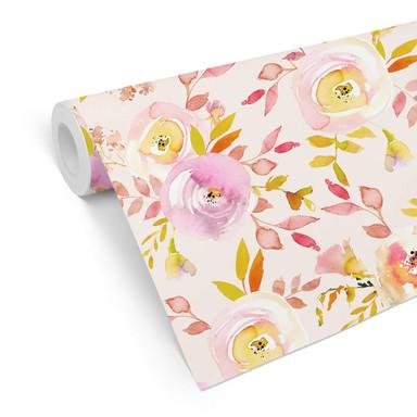 Mustertapete UN Designs - Sommerblüten