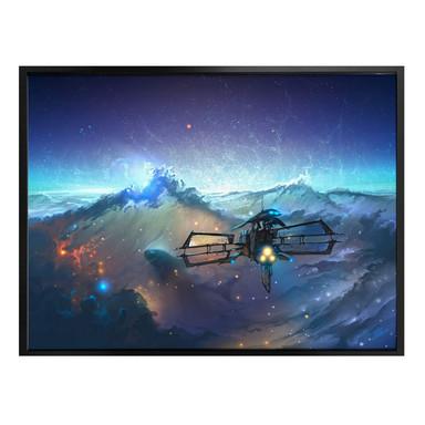 Poster aerroscape - Die See des Weltraums